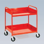 Order Picking Trolley - 3 x Raised Sides